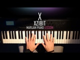 How To Play Xzibit - X Piano Tutorial Lesson