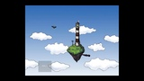 Flying lighthouse small animation