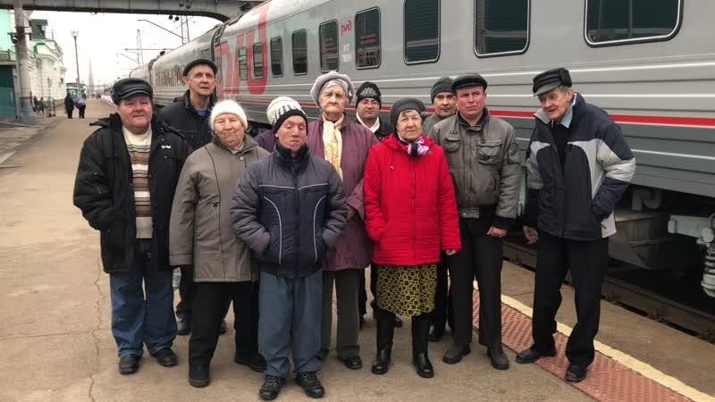 Посещение передвижного музея в Сызрани