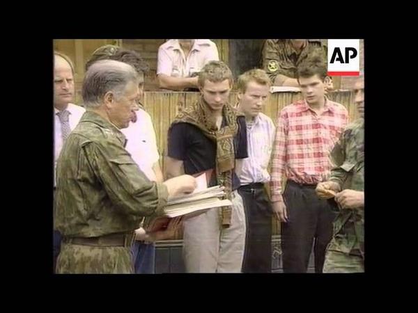 Чечня. Ичкерия. Военнопленные на мирных переговорах. Аслан Масхадов.