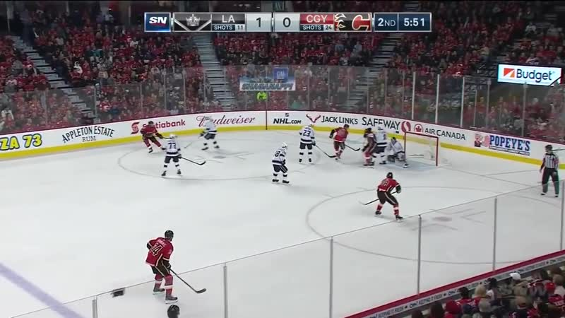 NHL Game Highlights _ Kings vs. Flames – March 25, 2019