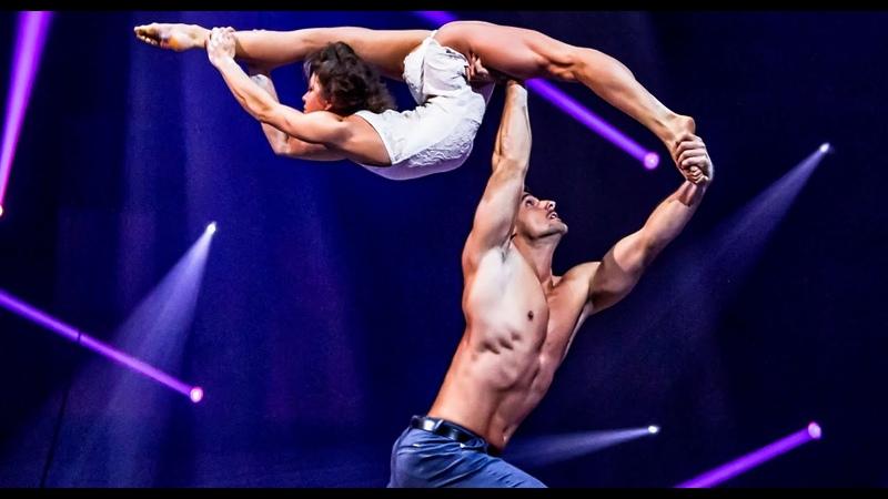Duo Destiny - Hand to hand Bench Act   39th Cirque de Demain