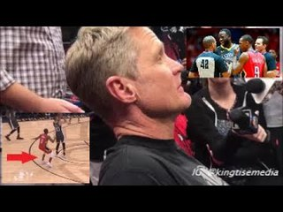 Steve Kerr Wants NBA To Review Rajon Rondo 'Dirty' Plays On Steph Curry & Draymond Green