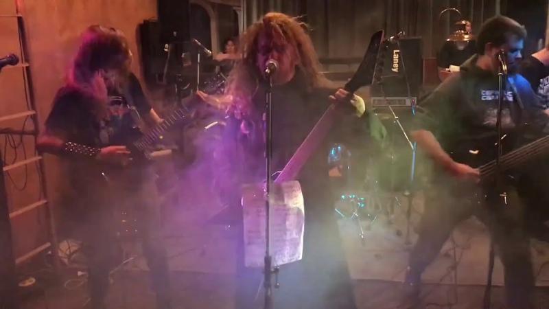 Corvus Lives Again - I Cum Blood (cover Cannibal Corpse) (17.11.18, AMA GIG)