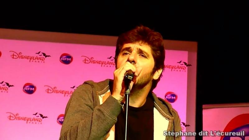 Patrick Fiori Elles à Disneyland Paris 2014