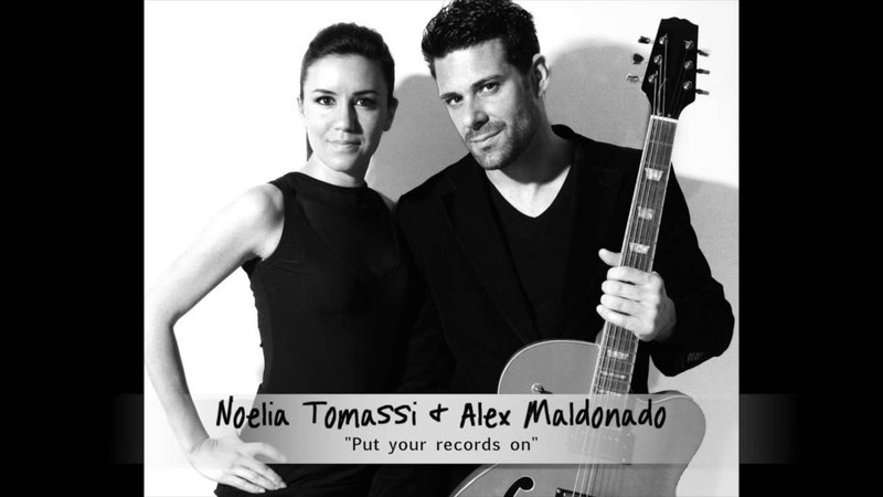 Noelia Tomassi Alex Maldonado Put your records on acoustic cover