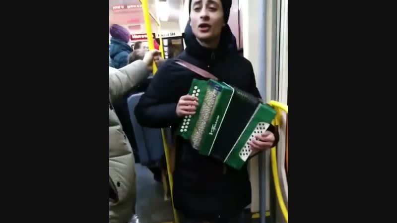 Хорошее настроение в общественном транспорте Перми