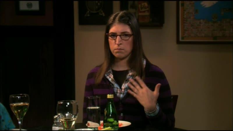 [4х10] Девочки в баре / Эми реагирует на Зака