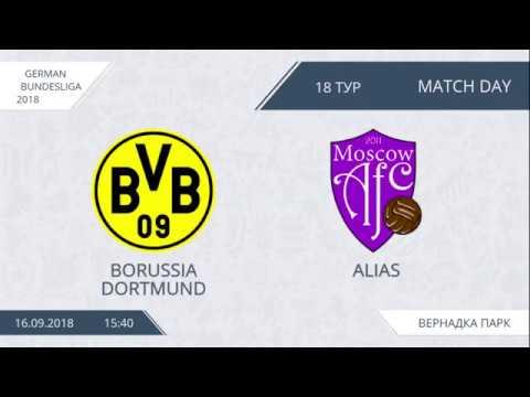 AFL18. Germany. Bundesliga. Day 18. Borussia Dortmund - Alias