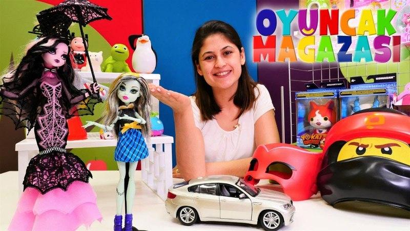 Ayşenin oyuncak mağazası Frankie Drakulaurayı alıyor!