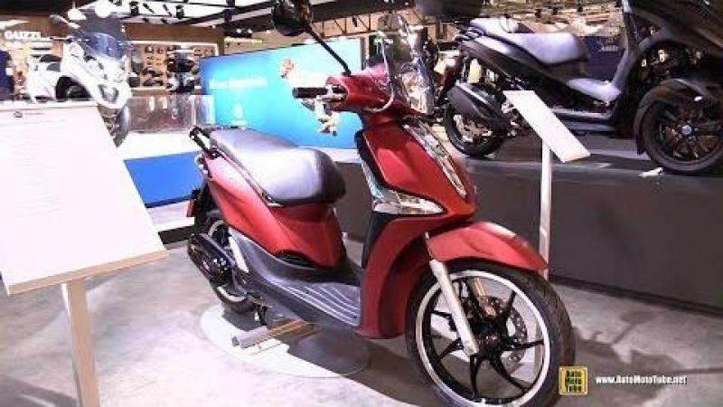 2018 Piaggio Liberty 150 Scooter - Walkaround - 2017 EICMA Motorcycle Exhibition