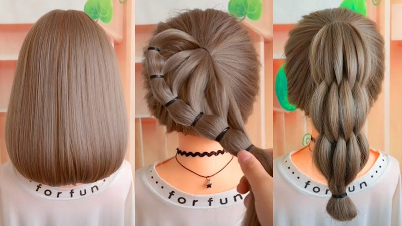 Hairstyles tutorials for girls   TOP 28 Amazing Hairstyles Tutorials Compilation 2018   Part 21