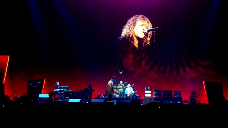 Led Zeppelin Kashmir Live from Celebration Day 2007