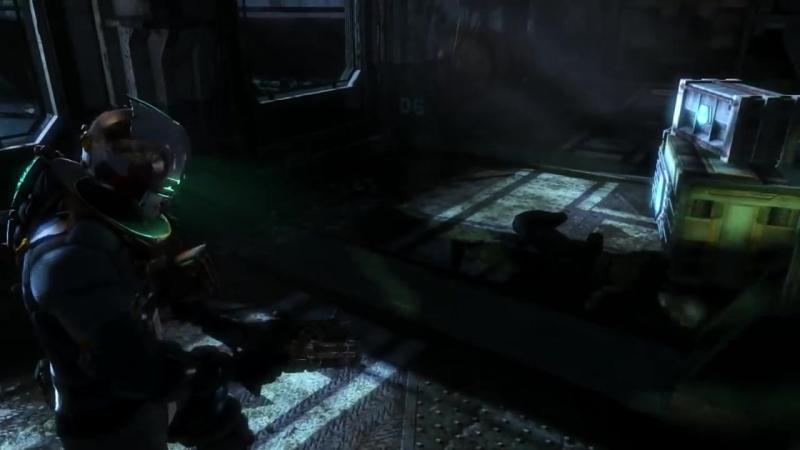 [RusGameTactics] Прохождение Dead Space 3 - Часть 3 — Брошенная флотилия | C.M.S. «Роанок»