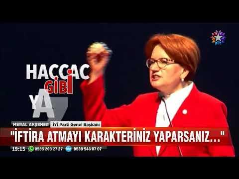 Ankarada seçim startı veren Meral Akşener İftira atmayı karakteriniz yaparsanız