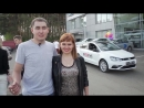 Яна и Саша Ханжины. Получение VW Polo 2 июня. БС Масштаб.