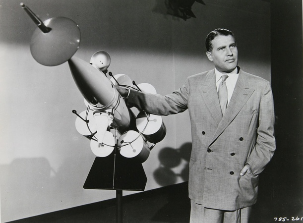 Wernher von Braun: Challenge of Outer Space , US Dept. Defense (1955)