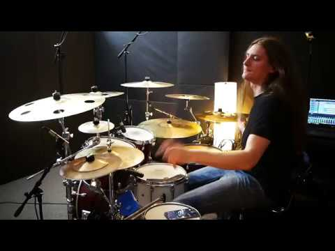 FLUME - Helix - Luke Tomzak drum cover @Versus Records Studio