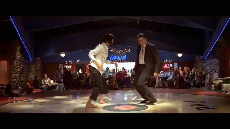 Криминальное чтиво - танец
