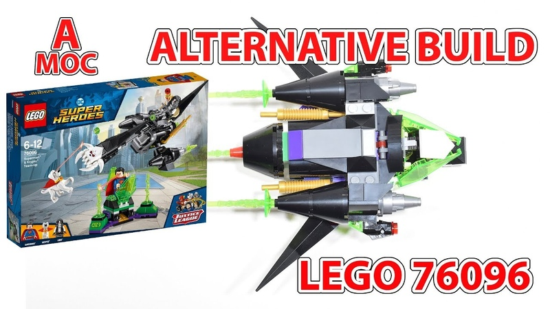 LEGO 76096 Space Fighter. alternative build [A MOC]