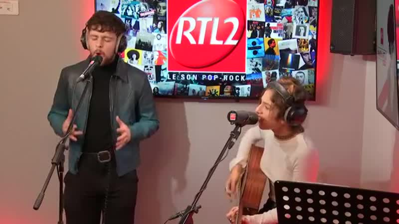 Tom Grennan и Naya в эфире французского радио RTL2 10.12.18