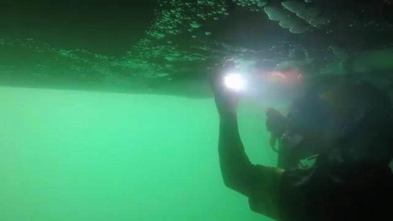 Сварка штучным электродом под водой