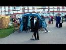 Денис Rukin - Се Ля Ви - выступление на открытии фонтанов