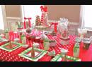 Новогодний стол и дети