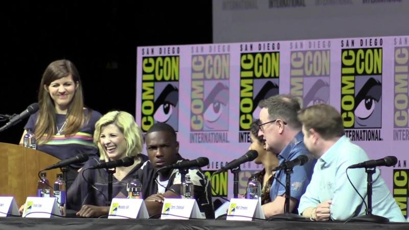 Doctor Who Comic Con Panel 2018