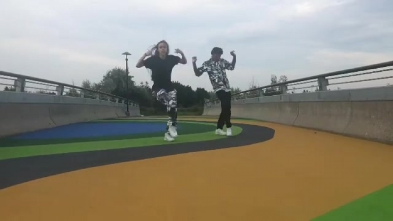 Танцевальный ролик под трек Womp Womp