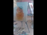 занятие по живописи д