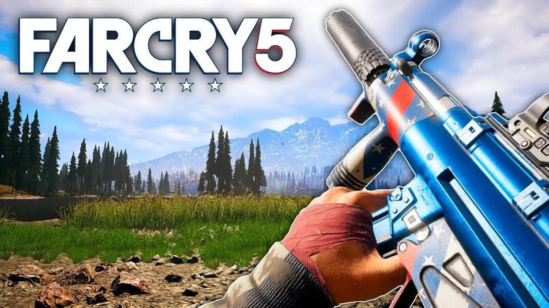 Far Cry 5 - NEW MP5K MURICA BABY! (Far Cry 5 Free Roam)