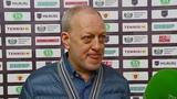 Руководитель ХК Рубин Александр Валентинович Попов после победы над Торосом