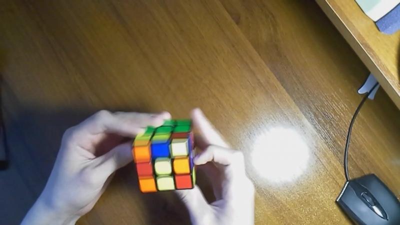 Неуклюжие лапки творца VS Кубик Рубика