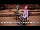 MMD Naruto Duet French Horn and Chair MEME Kabuto and Karin DL