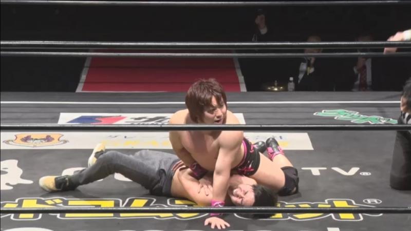 Keisuke Ishii vs. Ryohei Fukuda (DDT - Video Team Produce BetaMania)