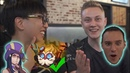 Doublelift Rekkles Perkz eat crab talk life and death of MARKSMEN League of Legends