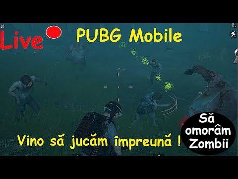 Live PUBG Mobile Vino sa Eliminam Zoombies Impreuna Avem si Concurs pe Bani reali