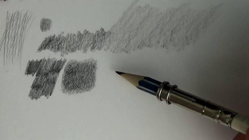 Основы рисунка. Часть 5 - тушевка и растушевка