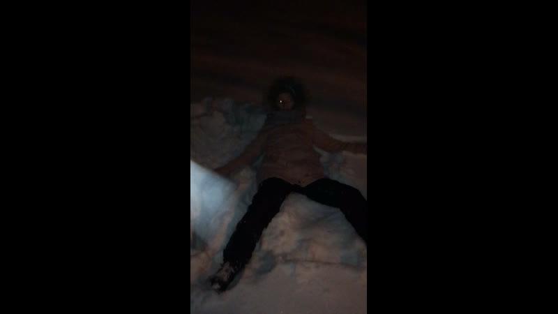 Ныряем в снег