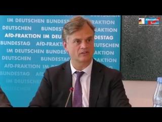 Pressekonferenz Zuwanderung- Flüchtlinge- Asylanten AfD Fraktion im Deutschen Bundestag