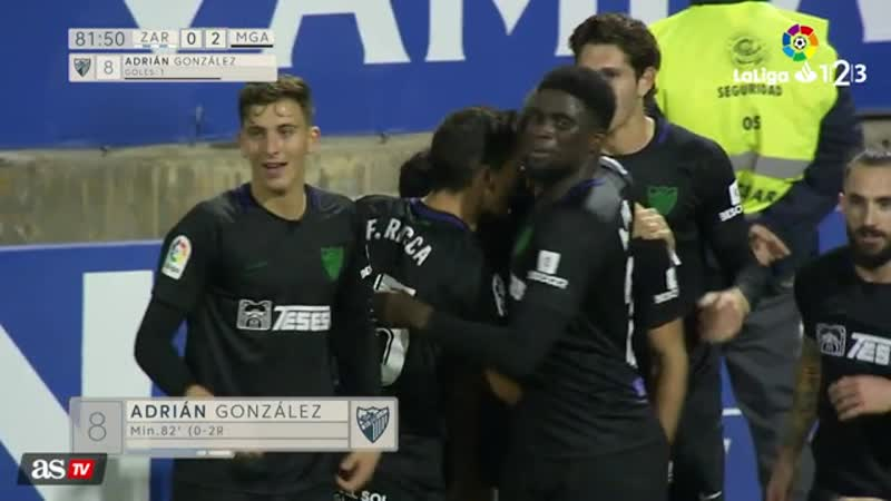Видео обзор матча Сарагоса - Малага