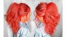Как сделать ВЫСОКИЙ ОБЪЕМНЫЙ ХВОСТ на средние волосы ПРИЧЕСКИ 2018💛 How To Big Voluminous Ponytail