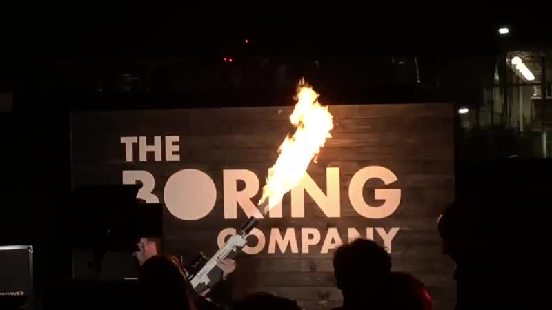 The Boring Company underground party. We all got tunnel vision. Teslarati