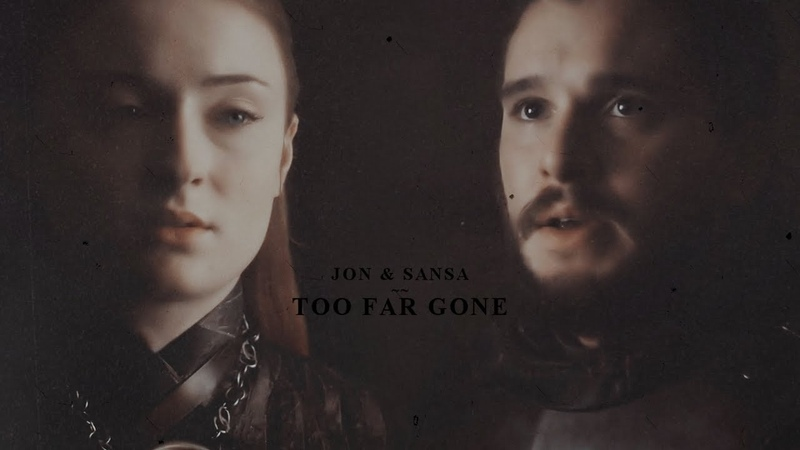 Jon sansa ♦ too far gone [8x01]