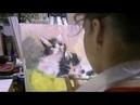 Уроки живописи маслом на холсте для детей и взрослых спб