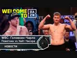 WBC хочет бой Головкин-Чарло, Поветкин против победителя Уайт-Чисора   FightSpace