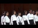 Выступление хора Гармония The Harmony Children's Chorus Bangalore на концерте Московский праздник песни 2018 года