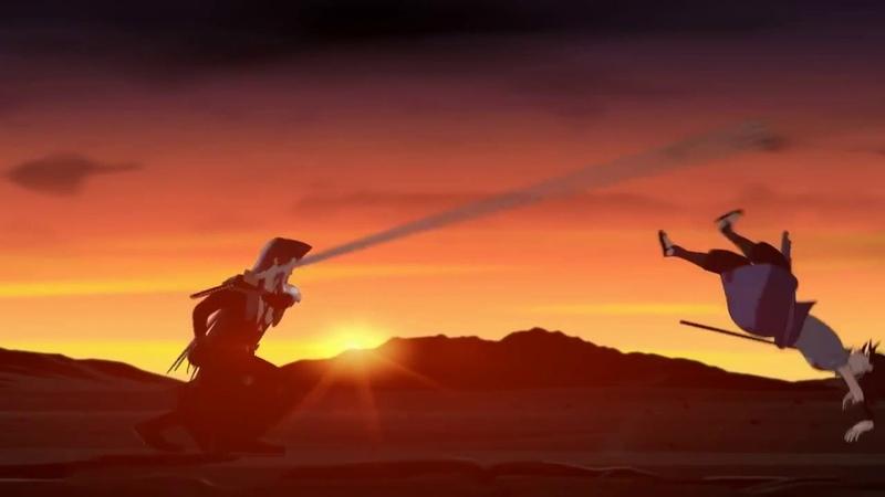 САСКЕ ПРОТИВ ДАНТЕ !anime of the world озвучили Фуар,Rasha,Kiske,Archi,Kamazya(старая озвучка)
