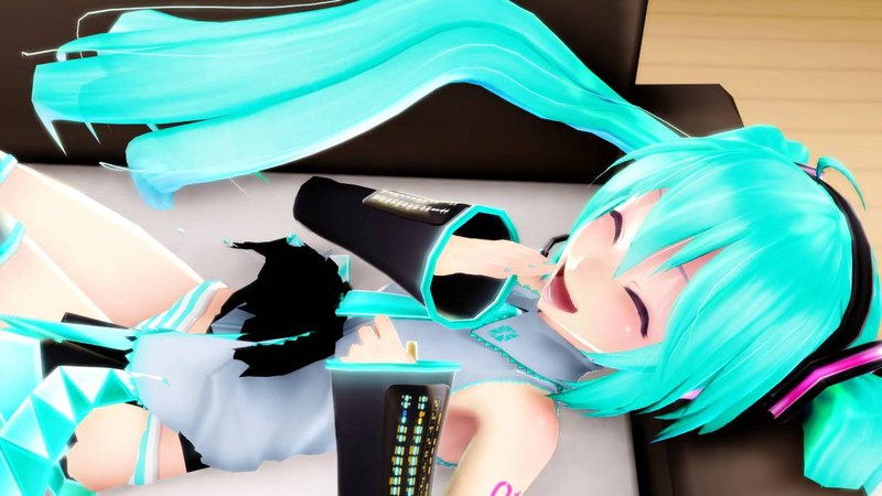 MMD【MIKU, MIKUO】WHAT IS THIS【初音ミク, 初音ミクオ】Motion DL